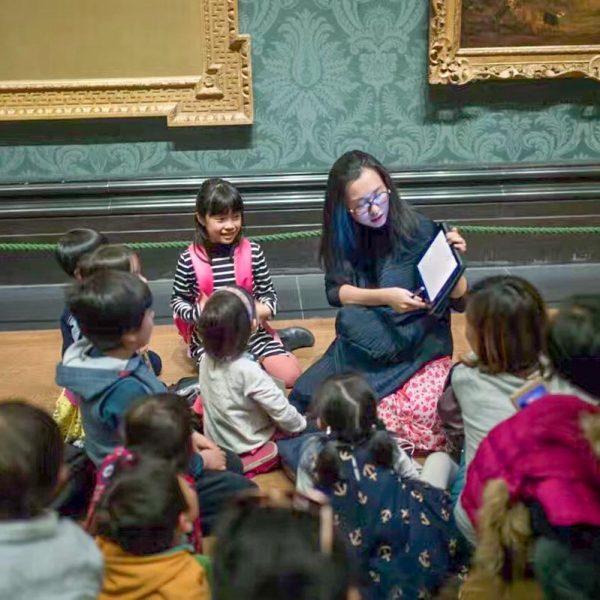 children's workshop @ National Gallery